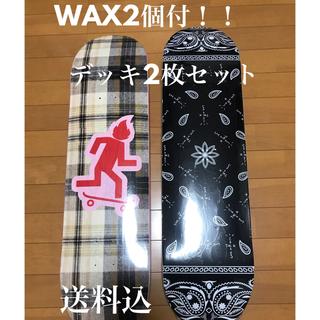 ナイキ(NIKE)の【込 WAX付】2枚セット cactus jack skate deck  (スケートボード)