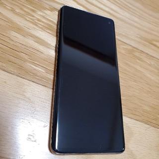 SAMSUNG - Galaxy S10 Prism Black 128 GB docomo版