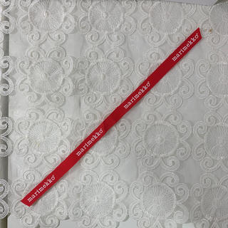 マリメッコ(marimekko)のマリメッコ リボン ロゴ4個(各種パーツ)