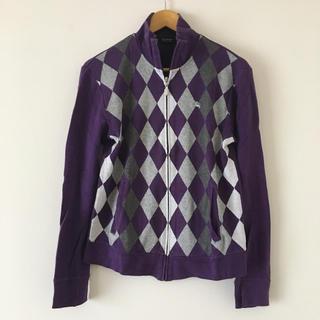 バーバリーブラックレーベル(BURBERRY BLACK LABEL)の長袖 ジップアップ ジャケット 羽織り物 バーバリー Burberry(Tシャツ/カットソー(七分/長袖))