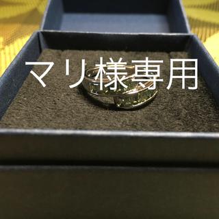 GSTV K18 グリーンサファイア リング(リング(指輪))