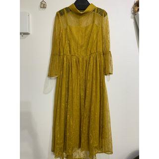 ローズバッド(ROSE BUD)のRosebutドレスワンピ(ミディアムドレス)