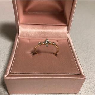 ジルスチュアート(JILLSTUART)のJILL STUART 指輪 ダイヤモンド(リング(指輪))