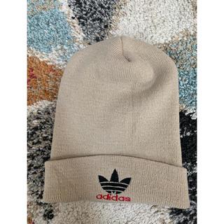 アディダス(adidas)のadidas originals beanie ニット帽 vintage(ニット帽/ビーニー)