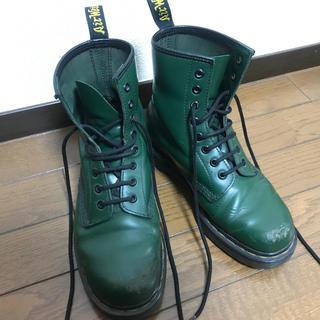 ドクターマーチン(Dr.Martens)のドクターマーチン 24cm ダークグリーン(ブーツ)
