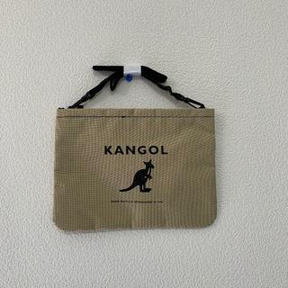 カンゴール(KANGOL)の新品 カンゴール サコッシュ ベージュ メンズ レディース バッグ (ショルダーバッグ)