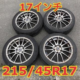 グッドイヤー(Goodyear)の【格安】215/45R17 タイヤ & 17インチ ホイール 4本セット(タイヤ・ホイールセット)