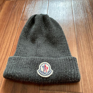 モンクレール(MONCLER)のモンクレール ニット 帽(ニット帽/ビーニー)