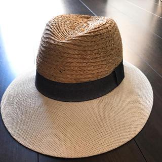 ザラ(ZARA)の新品♡ZARA ザラ  ストローハット 麦わら帽子(麦わら帽子/ストローハット)