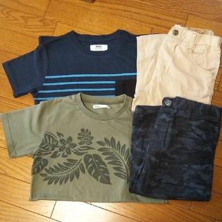 ikka - ikka Tシャツ&ハーフパンツセット 150