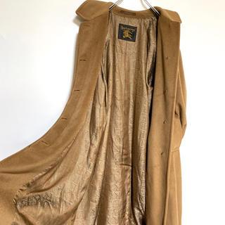 バーバリー(BURBERRY)の【美品】90s Burberrys cashmere coat(ステンカラーコート)