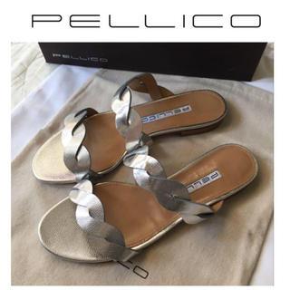 ペリーコ(PELLICO)のPELLICO ペリーコ DOUBLE TWIST サンダル 新品 24.5(サンダル)