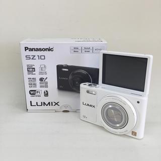 Panasonic - パナソニック デジタルカメラ ルミックス DMC-SZ10 ホワイト