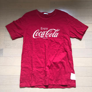 ジェイダ(GYDA)のGYDAコカコーラTシャツ(Tシャツ(半袖/袖なし))