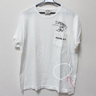アルファ(alpha)のALPHA スヌーピーTシャツ(Tシャツ/カットソー(半袖/袖なし))