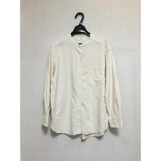 ニコアンド(niko and...)のニコアンド ノーカラーシャツ(シャツ/ブラウス(長袖/七分))