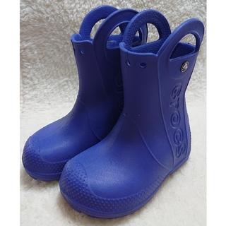 クロックス(crocs)の【美品】crocs クロックス 長靴 16.5cm(長靴/レインシューズ)