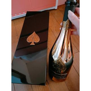 アルマンドバジ(Armand Basi)のアルマンド ゴールド 空瓶 箱付き(シャンパン/スパークリングワイン)