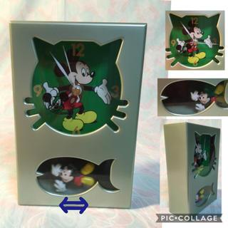 ディズニー(Disney)の《Mickey》(振り子)時計(置時計)