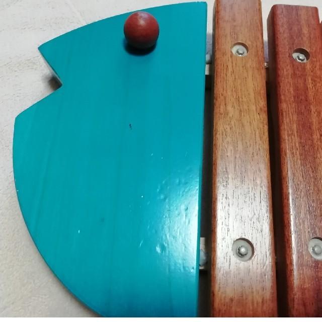 BorneLund(ボーネルンド)のボーネルンド お魚のシロフォン 木琴 キッズ/ベビー/マタニティのおもちゃ(楽器のおもちゃ)の商品写真