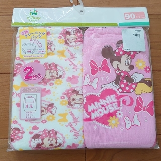 ディズニー(Disney)のミニーマウス トレーニングパンツ 90 3重層 新品 ディズニー(トレーニングパンツ)