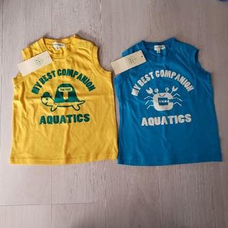サンカンシオン(3can4on)の3can4on ノースリーブ 95size(Tシャツ/カットソー)