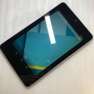 エイスース(ASUS)のASUS Nexus 7 ( 2012 ) WIFモデル ジャンク aki113(タブレット)