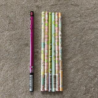 サンエックス(サンエックス)の2Bすみっコぐらし鉛筆+赤鉛筆 7本セット(鉛筆)