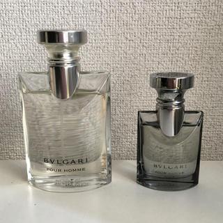 ブルガリ(BVLGARI)のBVLGARI ブルガリ★プールオム ソワール 2点セット(香水(男性用))