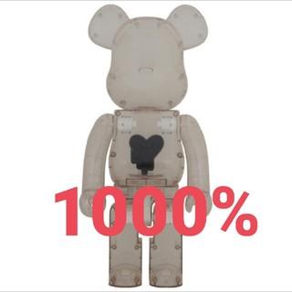 メディコムトイ(MEDICOM TOY)のBE@RBRICK EMOTIONALLY Black Heart  1000%(キャラクターグッズ)