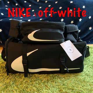 OFF-WHITE - NIKE × OFF-WHITE Duff Shoulder Bag