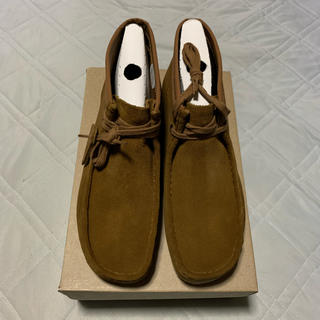 Clarks - CLARKS×Carhartt Wallabee Brown UK8.5