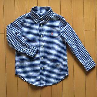ラルフローレン チェックシャツ 110サイズ