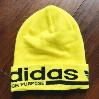 アディダス(adidas)のadidas アディダス ニットキャップ ビーニー(ニット帽/ビーニー)