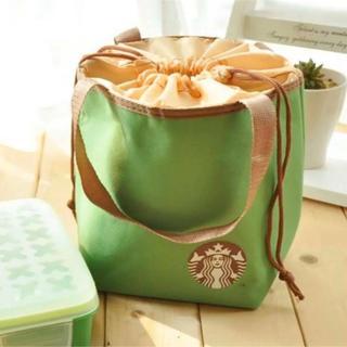 スターバックスコーヒー(Starbucks Coffee)の【即購入大歓迎】スターバックス 保冷・保温 コンパクトトートバッグ グリーン(トートバッグ)