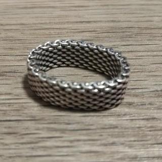 ティファニー(Tiffany & Co.)のTiffany&Co ピンキーリング シルバー 直径15cm(リング(指輪))