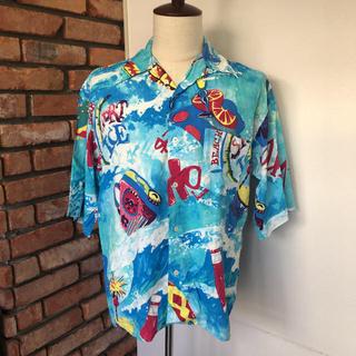 アイスバーグ(ICEBERG)の未使用 美品 スポーツアイス バイ アイスバーグ アロハシャツ 表記Mサイズ(シャツ)