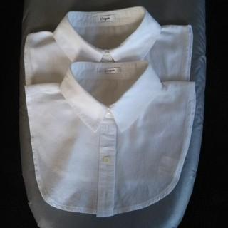付け襟 2枚セット(つけ襟)