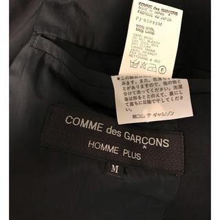 コムデギャルソンオムプリュス(COMME des GARCONS HOMME PLUS)のCOMME des GARCONS ジャケット(テーラードジャケット)