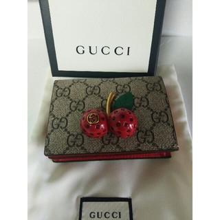 Gucci - GUCCI チェリーミニ財布