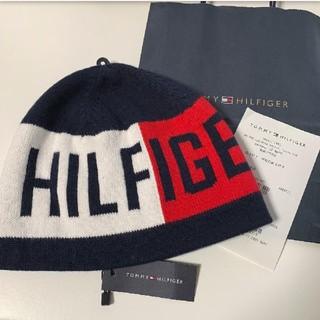 トミーヒルフィガー(TOMMY HILFIGER)の新品 トミーヒルフィガー ニット帽 TOMMY HILFIGER(ニット帽/ビーニー)