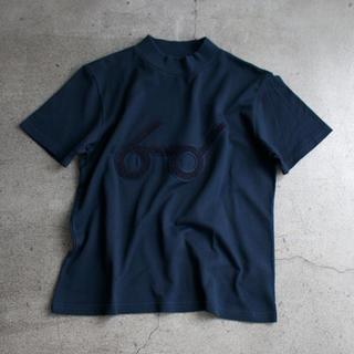 エフィレボル(.efiLevol)のTHE NERDYS メガネTシャツ ネイビー(Tシャツ(半袖/袖なし))