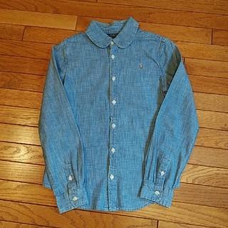 ポロラルフローレン(POLO RALPH LAUREN)のRALPH LAUREN ダンガリーシャツ 150サイズ(ブラウス)