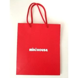 ミキハウス(mikihouse)のミキハウス MIKI HOUSE ショッパー 紙袋(ショップ袋)