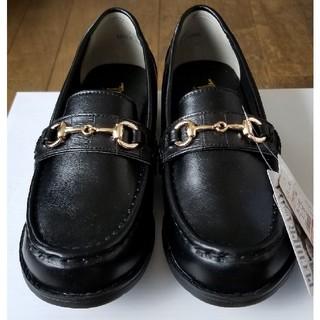シマムラ(しまむら)の♡新品未使用タグ付き♡ しまむら プチプラあやさんコラボ クロコビットローファー(ローファー/革靴)