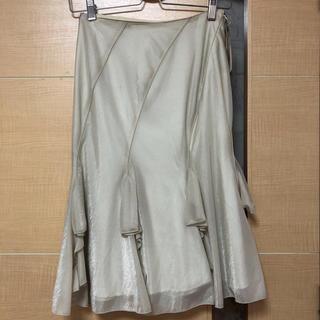 アトリエサブ(ATELIER SAB)のATELIER SAB☆タグ付き未使用スカート☆サイズ38(ひざ丈ワンピース)