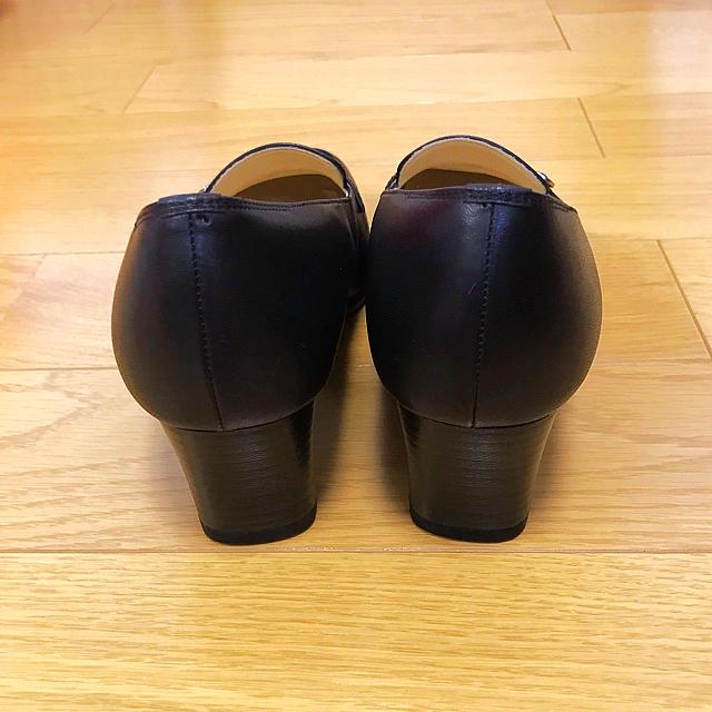 REGAL(リーガル)の【REGAL】パンプス 黒 レディースの靴/シューズ(ハイヒール/パンプス)の商品写真