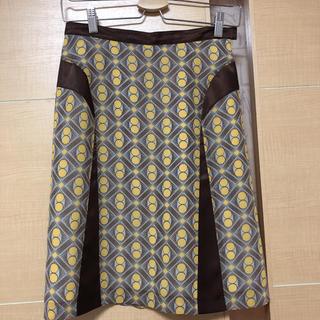 エムケークランプリュス(MK KLEIN+)の処分価格!MK KLEIN☆未使用☆スカート サイズ38(ひざ丈スカート)