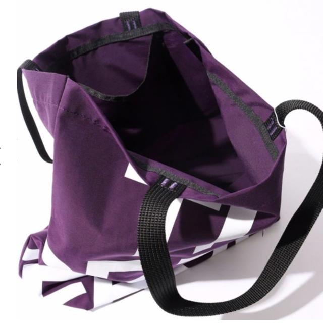 THE NORTH FACE(ザノースフェイス)の新品 トートバッグ ノースフェイス パープルレーベル NN7954N メンズのバッグ(トートバッグ)の商品写真