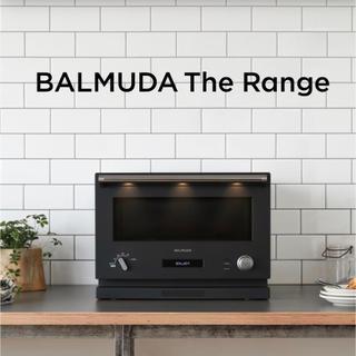 バルミューダ(BALMUDA)の【新品未開封】バルミューダ オーブンレンジ ブラック(電子レンジ)